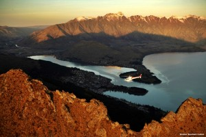 Aerial sightseeing, Southern Alps