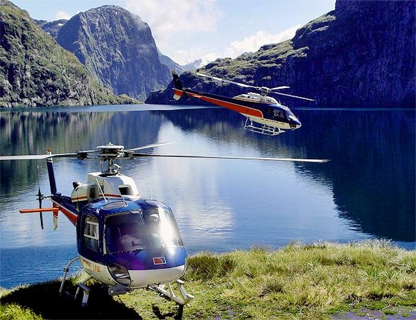Milford Fly Cruise Helicopter