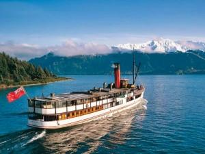TSS Earnslaw with Walter Peak Cruise