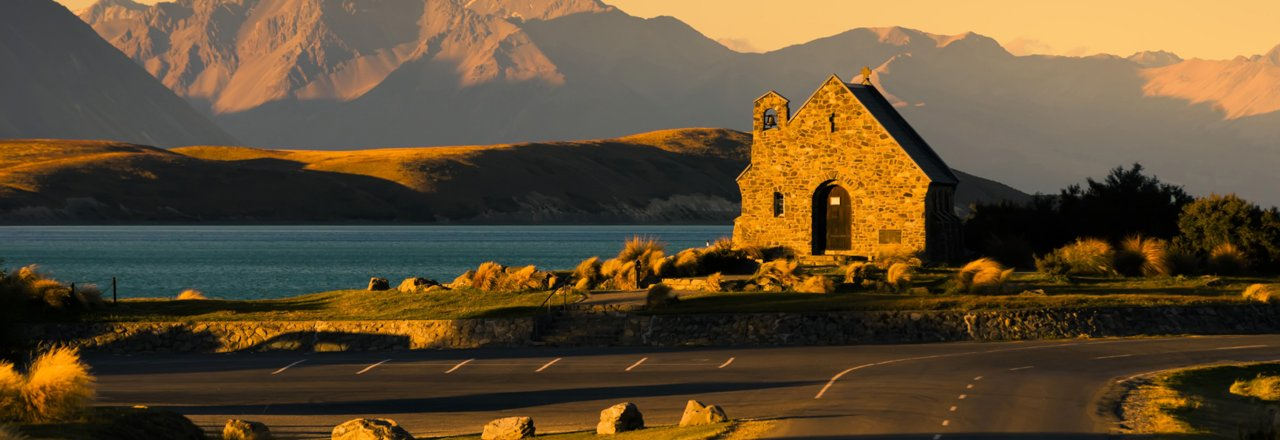The Church of the Good Shepherd, Lake Tekapo, photo: Sergio Del Rosso