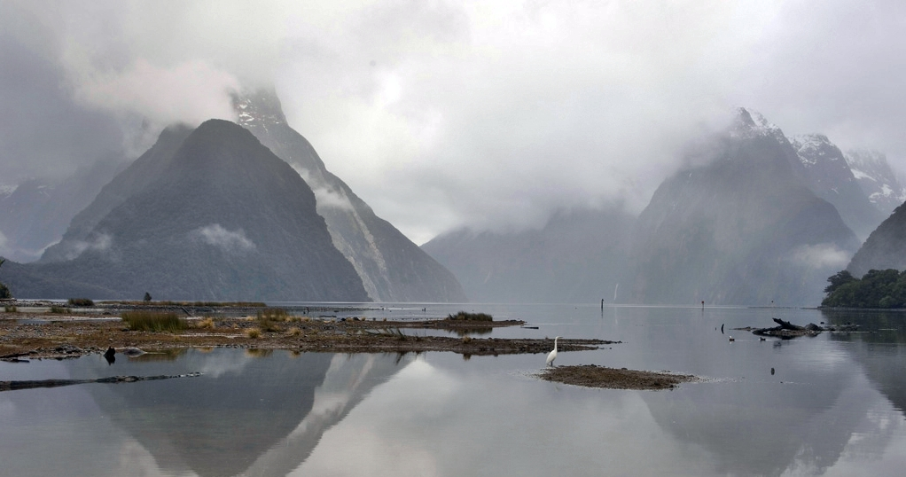 The mists of Milford Sound