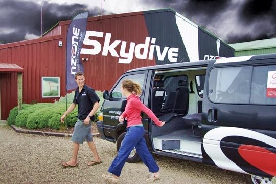 Nzone Skydiving - 12,000 / 15,000 ft jump