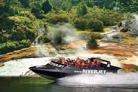 NZ Riverjet - Thermal Safari