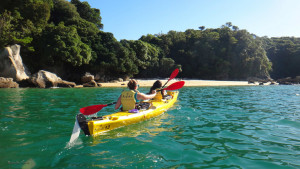15 Day Grand Traverse Adventure Tour - Beach kayaking, Photographer: Randy Law