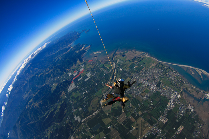 15 Day Grand Traverse Adventure Tour - Skydive, Photo: www.theplanetd.com
