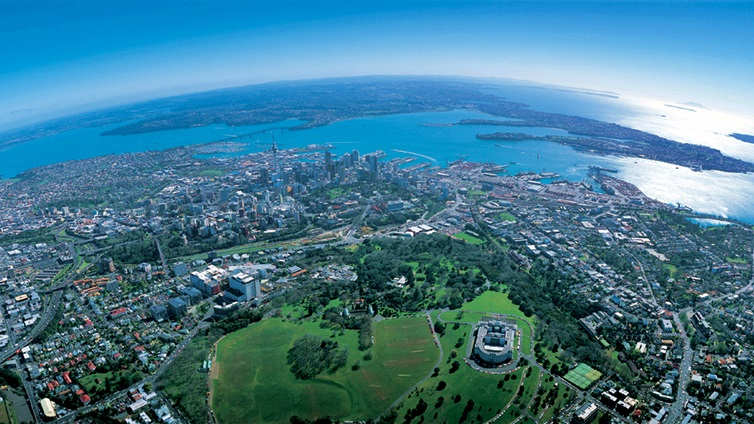Auckland City, Looking North