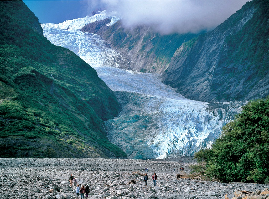 Franz Josef Glacier, Photographer: Gareth Eyres