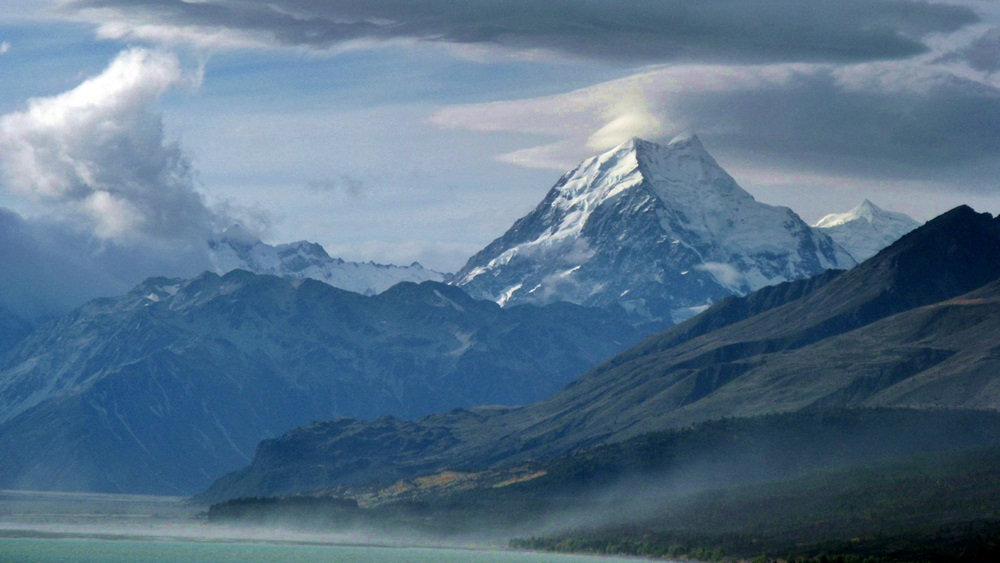 Mount Cook Overlooking Lake Pukaki