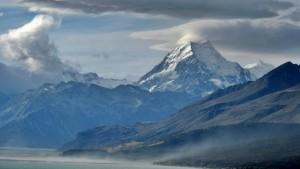 Mount Cook Overlooking Lake Pukaki